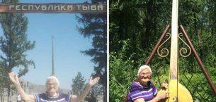 91 yaşında tek başına dünya turu