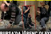 Bursa'da iğrenç iddia sonrası ortalık karıştı! Çevredekiler darbetti…