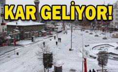 Son dakika: İstanbul'a kar geri dönüyor! Meteoroloji tarihi duyurdu
