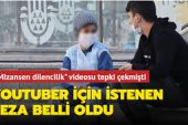 Su satan çocukla ilgili kurgu video çeken Youtuber için istenen ceza belli oldu