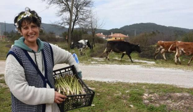 Üst düzey yöneticilik yapan kadın, Muğla'ya yerleşti yılda 10 ton kuşkonmaz üretiyor!