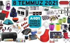 A101 8 Temmuz 2021 Aktüel Ürünleri kataloğu